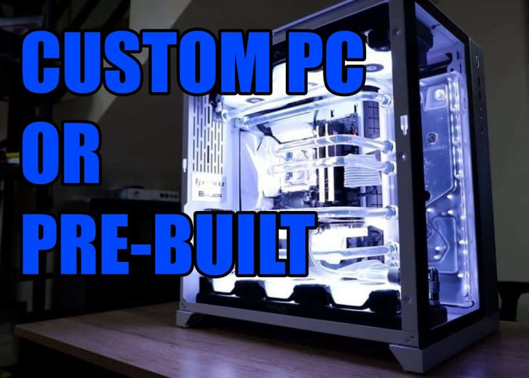 Is It Better to Build or Buy a Gaming PC?