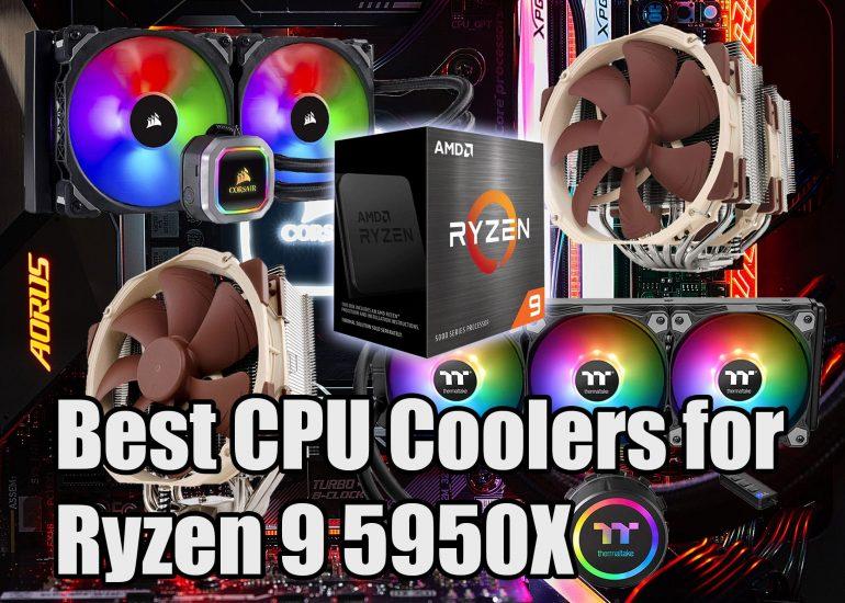 Best CPU Coolers for Ryzen 9 5950X