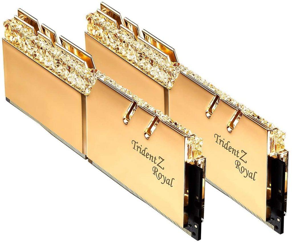 G Skill 16 GB DDR4 Trident Z Royal Gold
