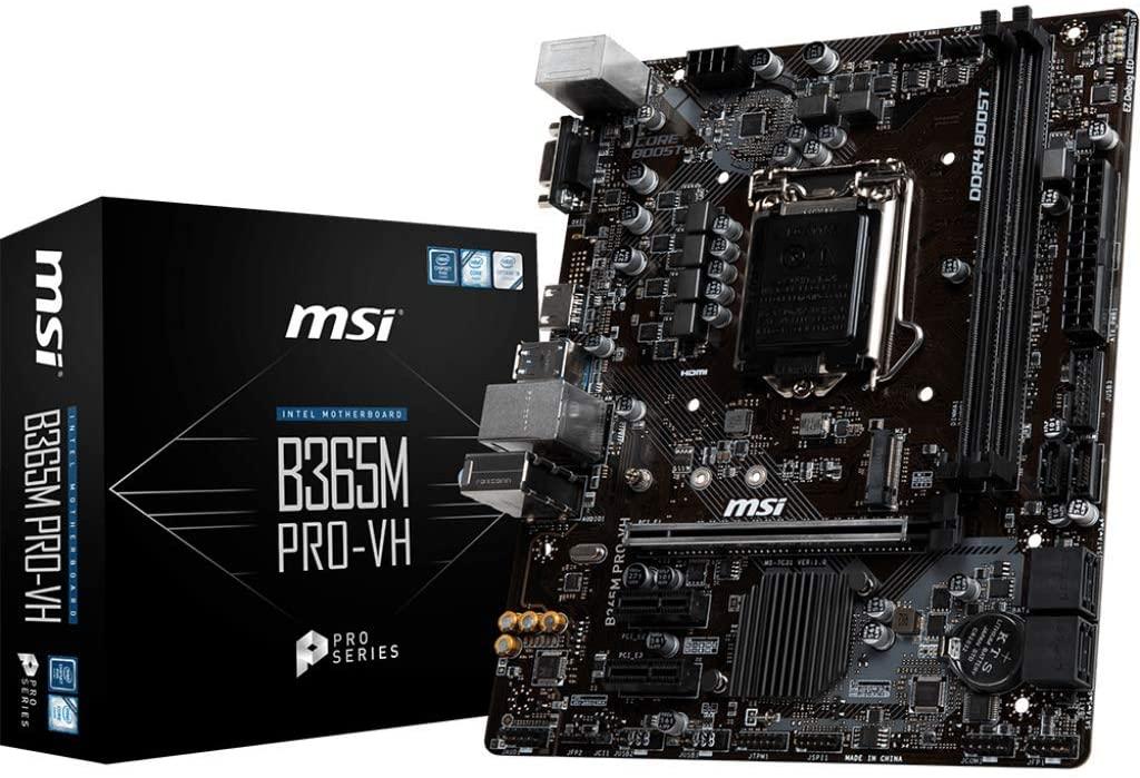 MSI ProSeries MicroATX B365