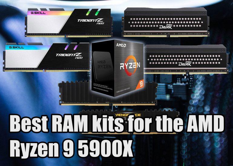 Best RAM for the AMD Ryzen 9 5900X