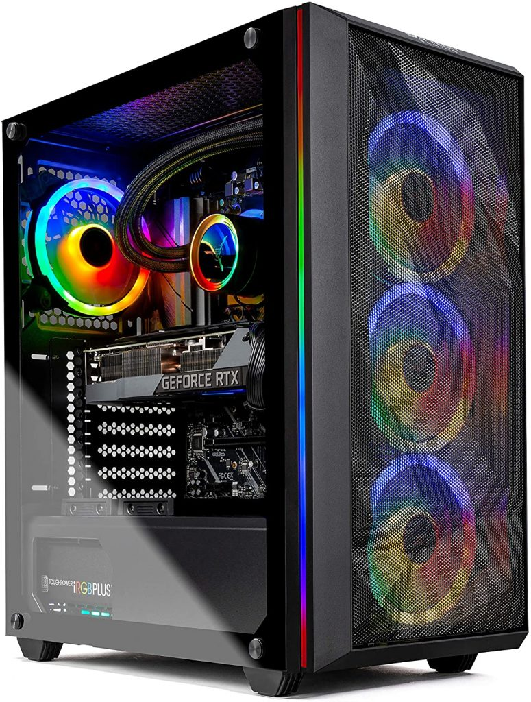 Best Prebuilt PC Featuring the GeForce RTX 3080 & an AMD Processor - Skytech Chronos