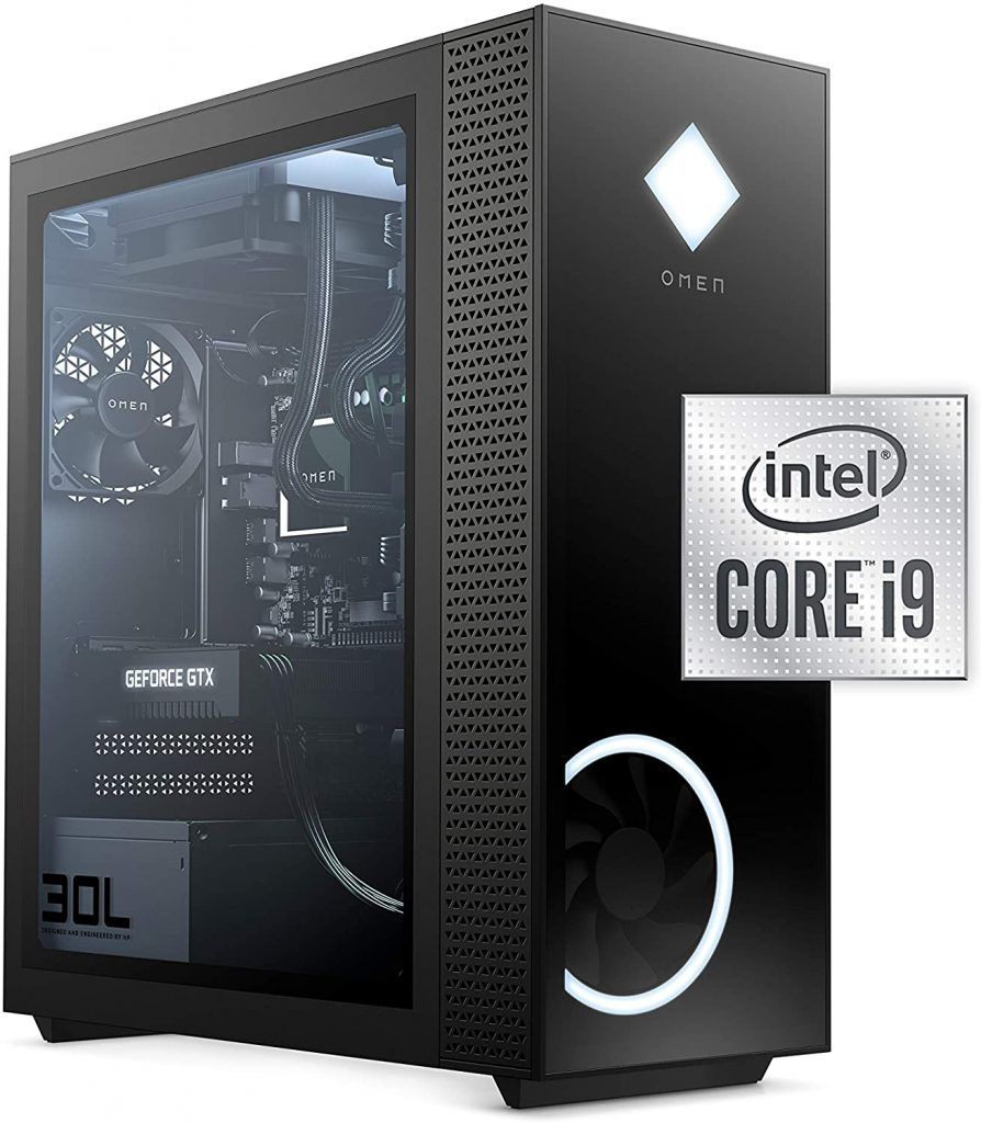 Best Prebuilt PC Featuring the GeForce RTX 3080 & an Intel Processor - OMEN 30L