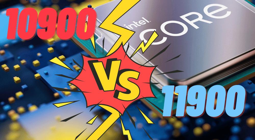 Intel Core i9 11900K vs 10900K