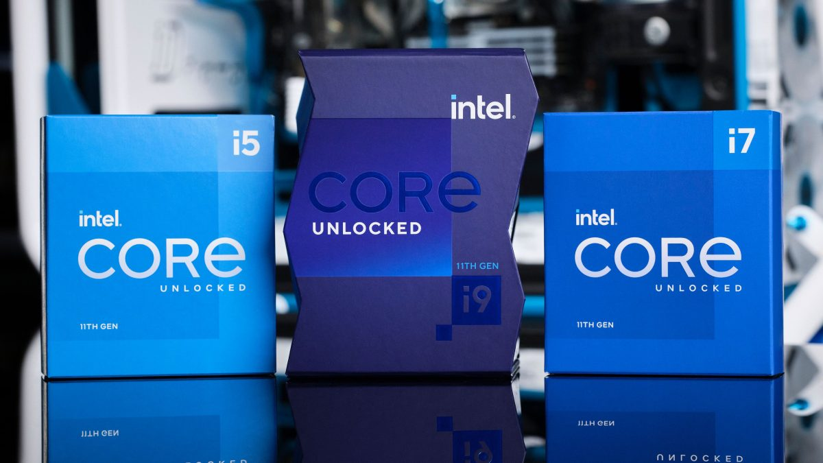 11th generation of intel processors