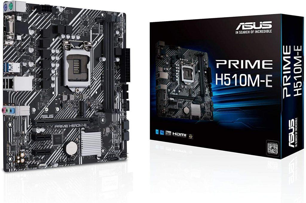 Asus Prime H510m E Motherboard