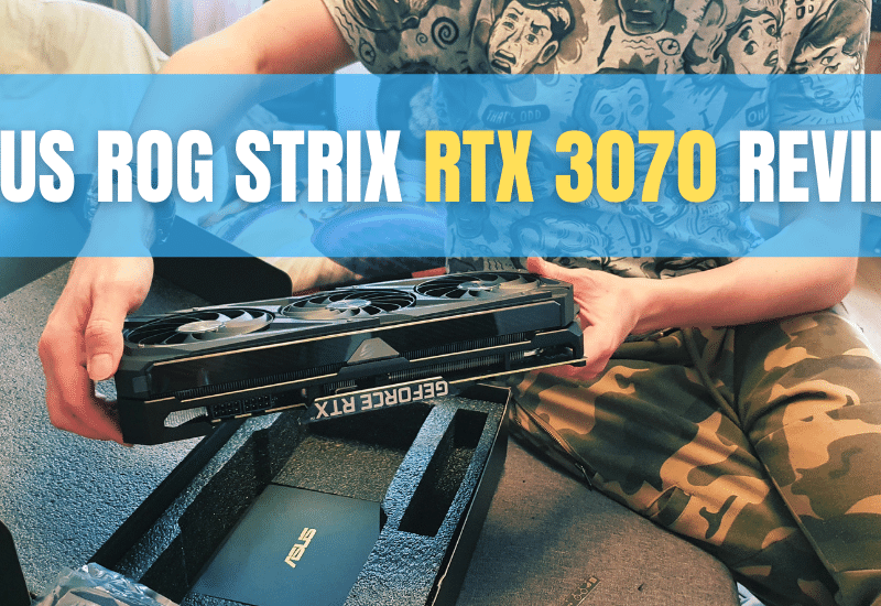 Asus ROG Strix RTX 3070 8GB OC Gaming Review