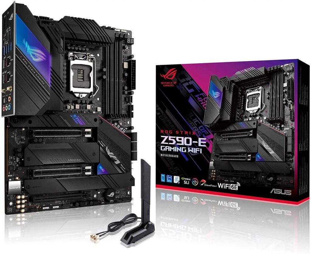 Rog Strix Z590 E Motherboard