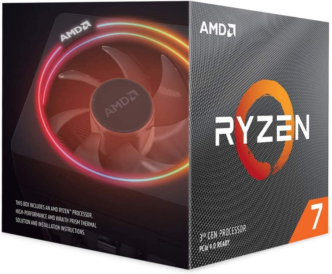 Best Budget CPU For Rtx-3070 Mixed-Use (AMD Ryzen 7 3700X