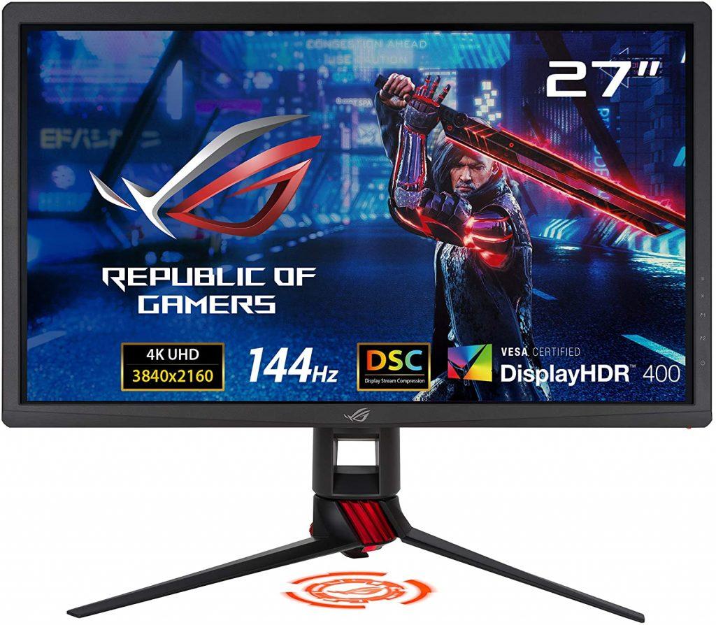 Best 144hz 4k Gaming Monitor Asus Rog Strix Xg27uq